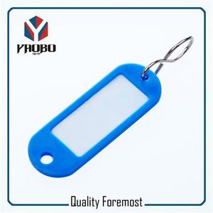 plastic tags,colored plastic tags,blue plastic tags for key