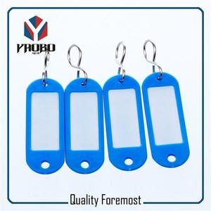 blue plastic tags,blue tag with hook,blue plastic tag for key