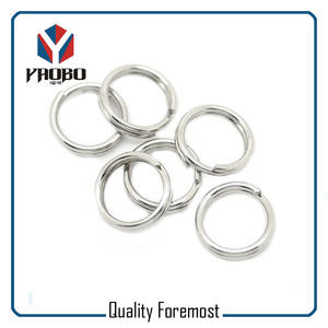 Stainless Steel Heavy Duty Key Rings