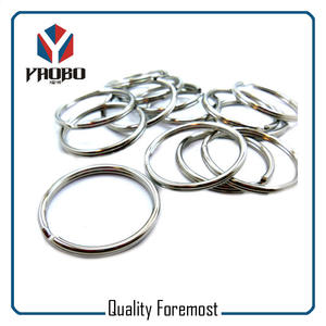 High Quality Silver Split Rings,metal split key ring