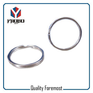 Stainless Steel 25mm Split Ring,stainless steel Split Key Ring