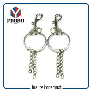 Snap Hook With Key Ring Key Chain