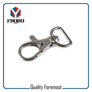 Snap Hook For Lanyard,20mm Hooks Snap Hook,20mm silver snap hook