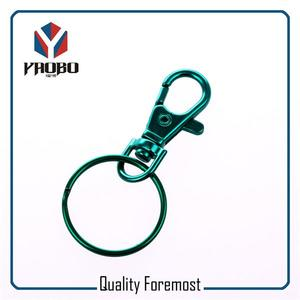 38mm Green Snap Hook With Split Ring