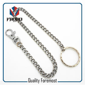 Snap Hook With Chain Dog