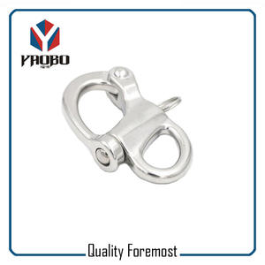 Fixed Snap Shackles,stainless steel snap shackles