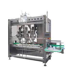 TPF-100H High Speed Triplex-Hopper Powder Filling Machine