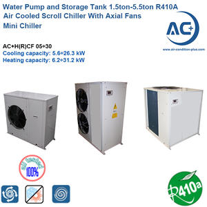 Scroll Mini Chiller/Air cooled scroll chiller  R410A