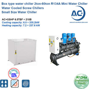 R134A scroll water chiller small water chiller