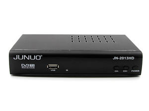 Dvb T2 Supplier Junuo Dvb T2 Digital Tv Receiver Support Pvr  Timeshifting Function With USB Port