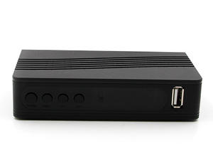 Junuo Digital Set Top Box Manufacturer Provide Dvb T2 Box  Support Muti-language