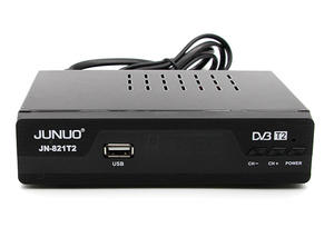 JUNUO hd mpeg4 tv box tv receiver dvb-t2 set top box