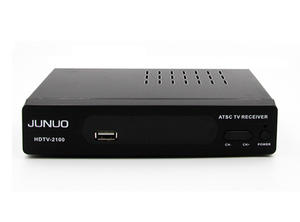 Junuo Atsc Manufacturer Wholesale Atsc Tv Box Fully ATSC Compliant for North America with NTIA Cert
