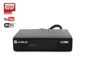 OEM Professional Junuo Factory Dvb T2 Set Top Box  With Youtube App