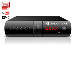 Best Set Top Box Junuo Factory Dvb T2 Receiver With Youtube App