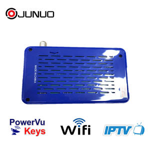JUNUO Full Hd Mini Dvb-s2 Mpeg4 Digital Satellite Receiver
