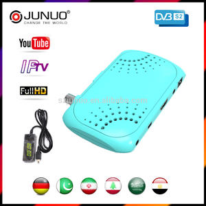 2017 JUNUO set top box factory OEM free to air hd dvb s2 box