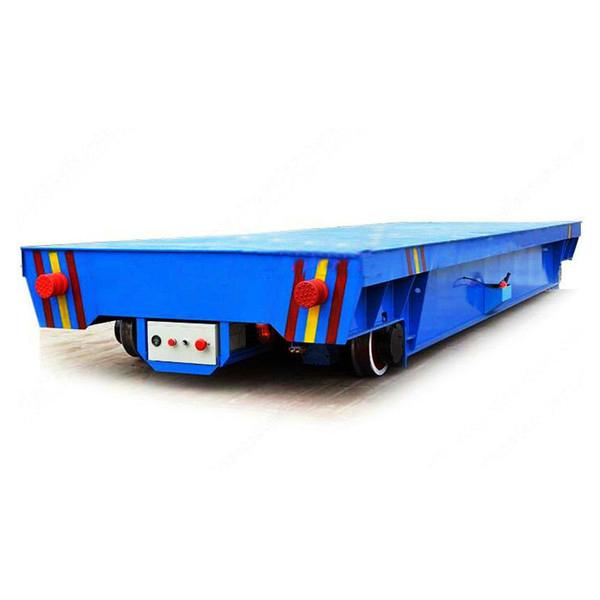 KPX 50T Electric Rail Flat Bed Trailer