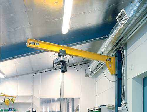 Wall Travelling Jib Crane