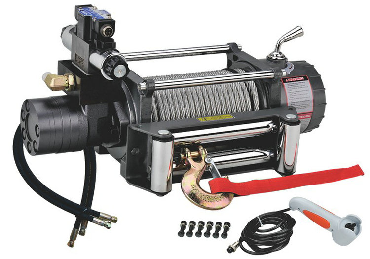Hydraulic ATV Winch