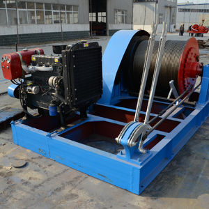 Big Capacity Diesel Engine Winch