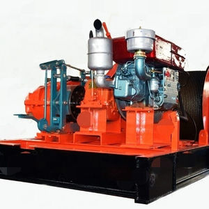 Double Cylinder Diesel Engine Winch