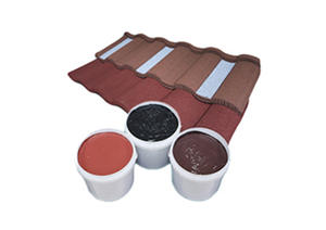 Waterbased Acrylic Adhesive For Stone Coated Metal Roof Tile