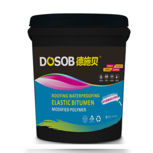 Liquid Bitumen Waterproof Coating for Roofing is elastic bitumen-modified