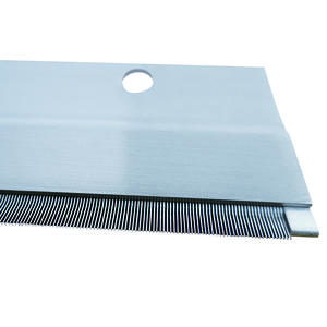 Top comb needle strips for cotton combing machines