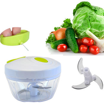 Manual Vegetable Swift Chopper Mincer Blender itemprop=