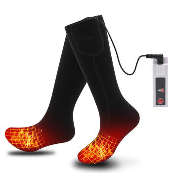Rechargeable Battery Electric Heated Socks for Cold Feet itemprop=