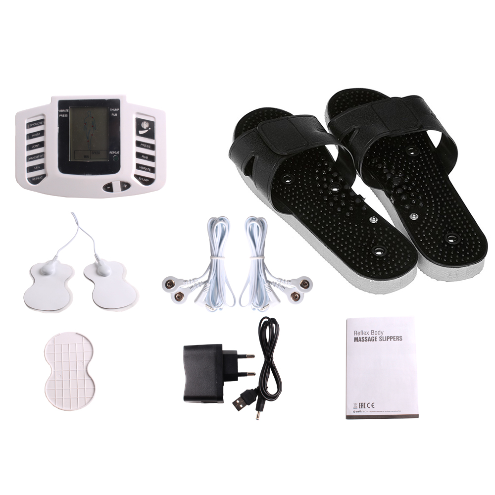 Electric TENS Massage slippers Shoes