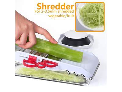 5 In 1 Mandoline Slicer With Storage Box