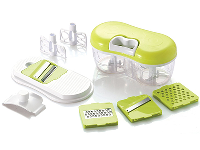 Grönsakshackare Shredder Slicer Grater Chopper Blender