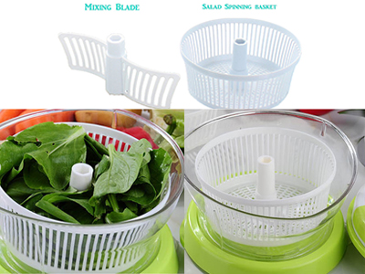 Vegetable Mixer And Slicer