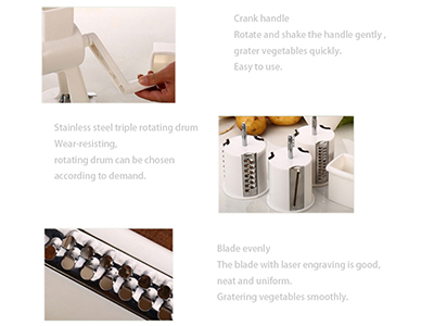 Vegetable Grater Slicer