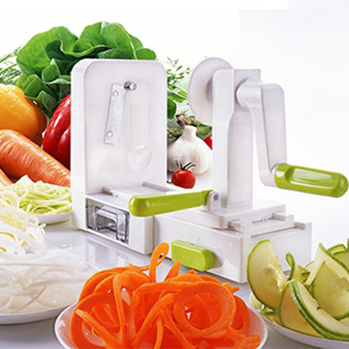 Foldable 5 Blade Spiral Spiralizer, Vegetable Spiral slicer