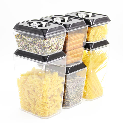 Plastic Airtight Food Storage Containers With Sealed Lid
