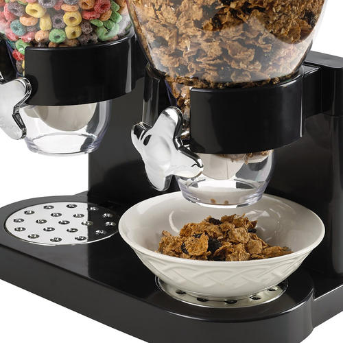Double Bulk Dry Food Cereal Dispenser