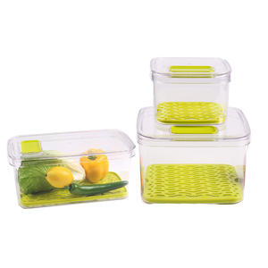 Multifunctional Vegetable keeper food storage container with lid